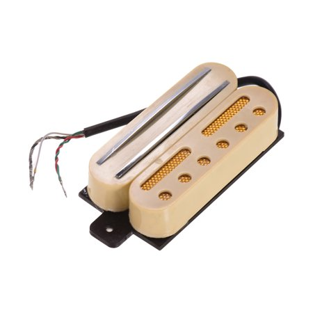 Hot Rail Dual Coil Humbucker Pickup with 4 Wires for ST LP Electric Guitar Replacement Parts