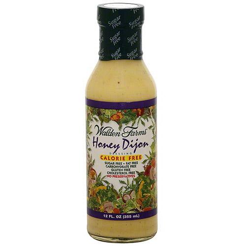 Walden Farms Honey Dijon Dressing, 12 oz (Pack of 6)