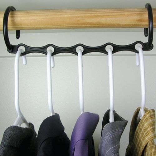 Ideaworks S/10 Magic Hangers, Black, Jb5523