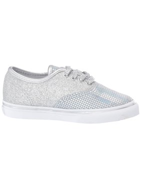 2497be0caa Product Image Vans VN-0A38E7UJ0  Boys Authentic Metallic Glitter Silver  Sneakers