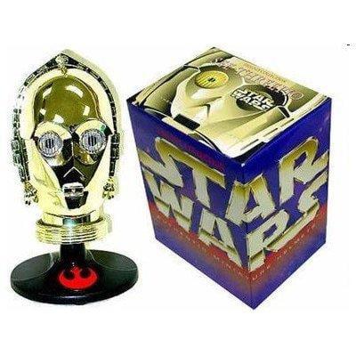 - star wars trilogy collection authentic c3po miniature helmet