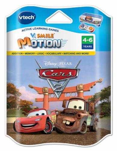 VTech Cars 2 Game for V.Smile Motion Active Learning System For Ages 4-6 by VTech