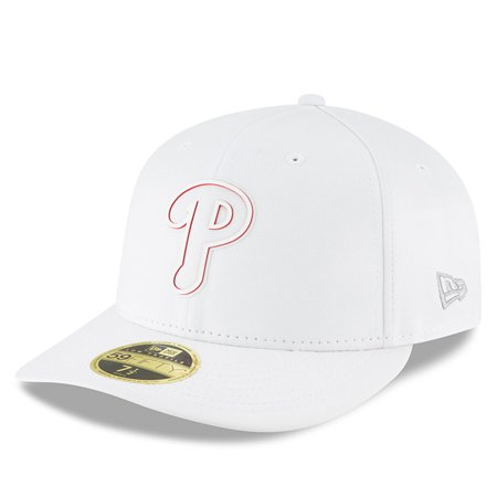 Philadelphia Phillies New Era 2018 Clubhouse Collection Low Profile 59FIFTY Fitted Hat - White