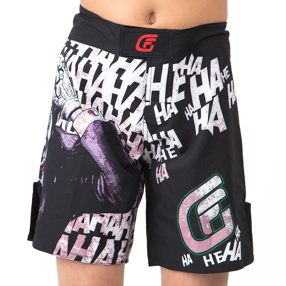 Fusion Fight Gear Batman The Killing Joke Kids Fight Shorts XL