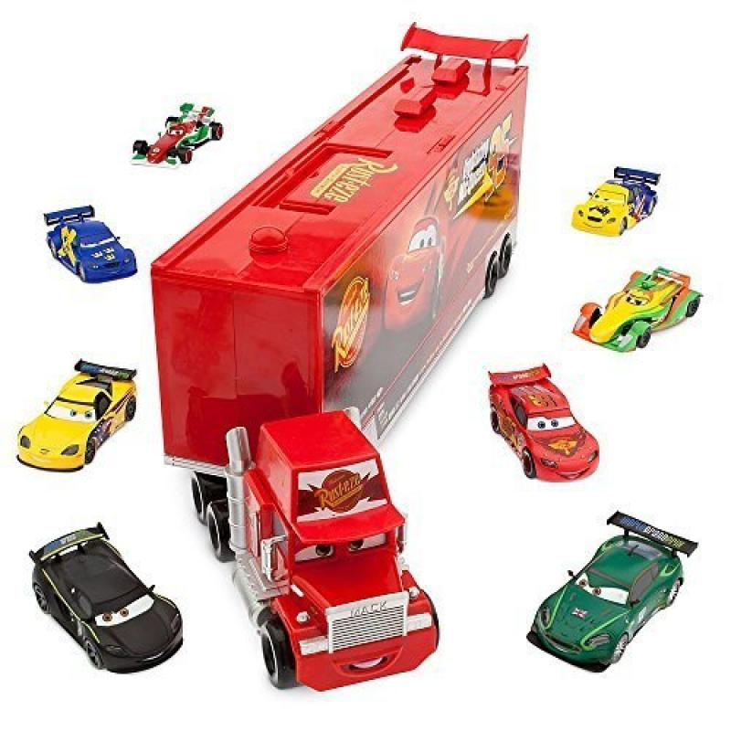 Disney   Pixar CARS Movie 10-Piece Playset Exclusive 1:48 Mack Die Cast Carrier Ultimate Gift Set by