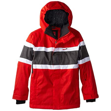 Quiksilver Big Boys Fraction Youth Snow Jacket Small (Best Quiksilver Snow Jackets)