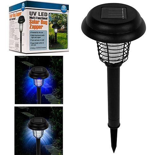 TerraTrade Solar Bug Zapper LED and UV Light by TRADEMARK GAMES INC