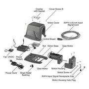 STENNER SVP4500 Svp4 Control Board W/receptacle