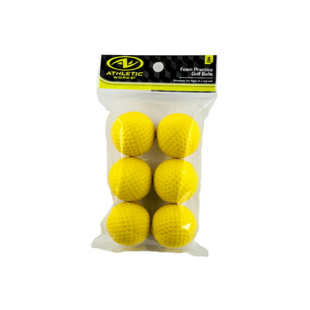Foam Golf Balls, 6 Pack (Led Golfball)