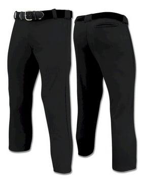 Champro Traditional Low Rise Girl's Softball Pants - Black