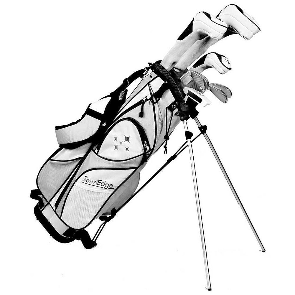 Tour Edge Lady Edge Starter Set (8-Piece, Black/White, WOMENS) Golf NEW