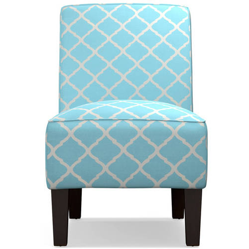 Dani Armless Accent Chair, Multiple Colors by
