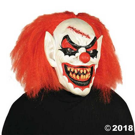 Men's Carver the Killer Clown Mask