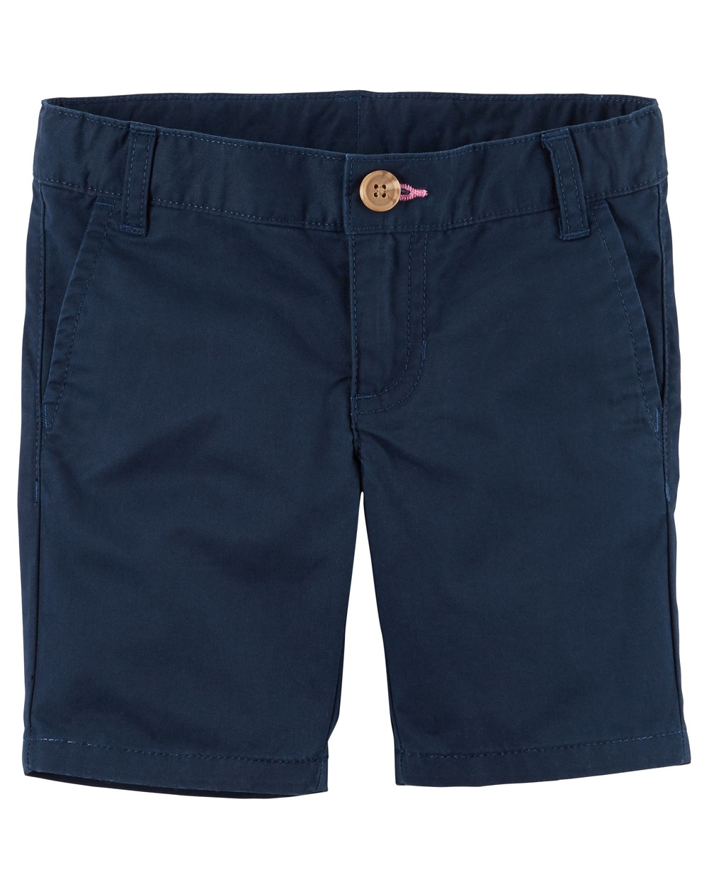 Olive Carters Girls Embroidered Twill Shorts