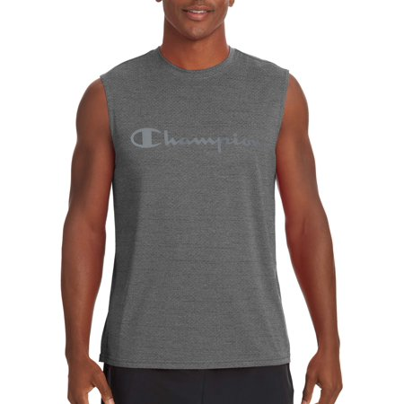 Champion Men's Double Dry Graphic Muscle, up to Size 2XL