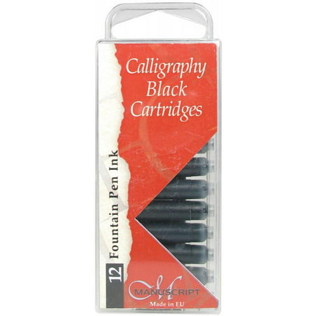 Manuscript Pen 7335167 Manuscript Fountain Pen Ink Cartridges (Number Of Pages Printed Per Ink Cartridge)