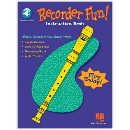 Teach Yourself Recorder - Hal Leonard Recorder Fun - Teach Yourself The Easy Way (Book/Online Audio)