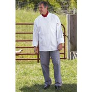 4003-3105 Yarn Dyed Baggy Chef Pant in Glen Plaid - XLarge
