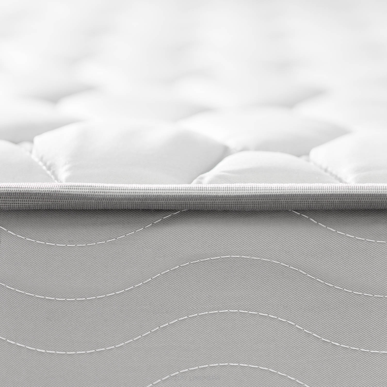 linenspa 6inch innerspring multiple sizes image - Innerspring Mattress