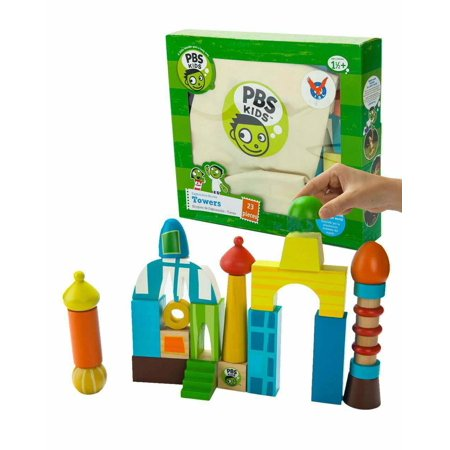 Wooden Towers Building Blocks - image 2 de 2