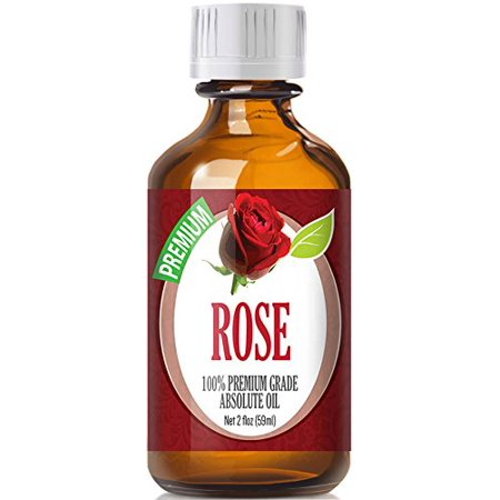 - Healing Solutions - Rose Oil (60ml) 100% Pure, Best Therapeutic Grade Essential Oil - 60ml/2oz