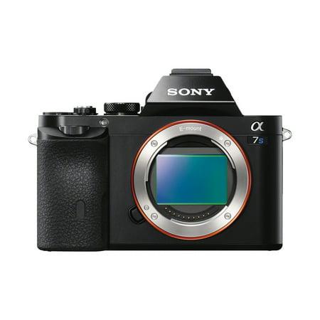Sony Alpha a7S Full Frame Mirrorless Camera - Black (Sony Alpha A7s)