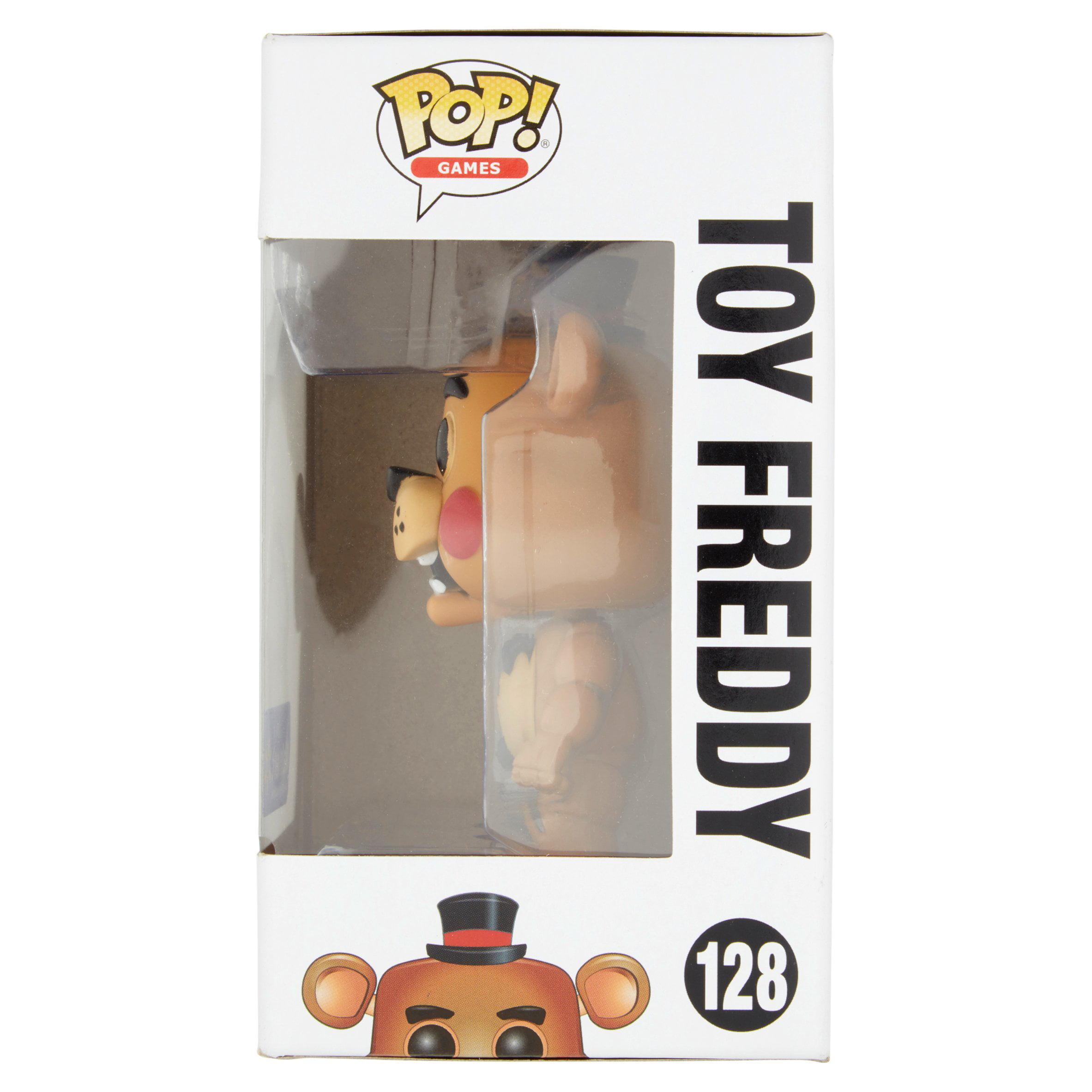 Pop Games Five Nights At Freddys 128 Toy Freddy Vinyl Figure Age 8 Bott Funko Fnaf