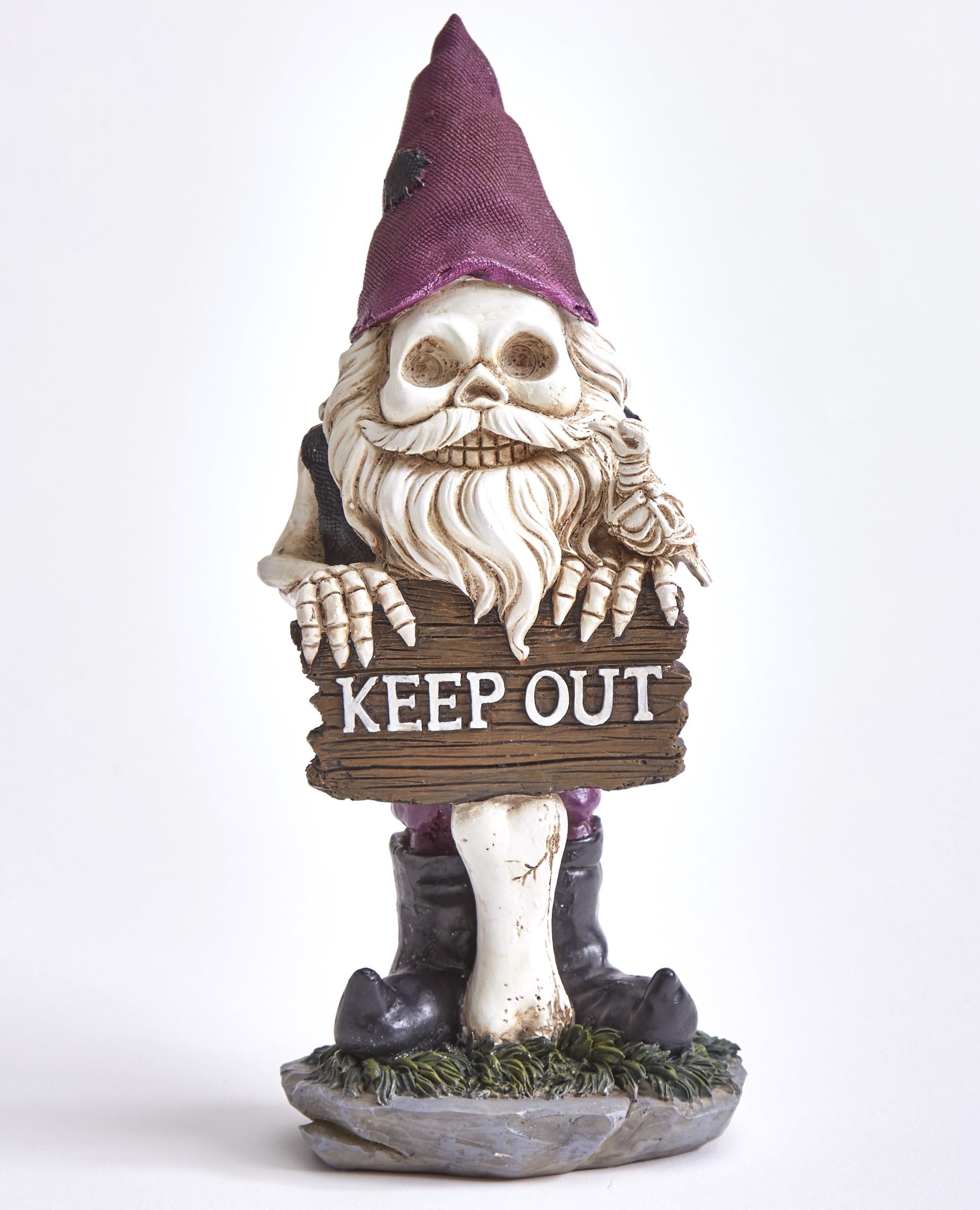 Halloween Garden Skeleton Gnome With Autumn Season Accents Walmart Com Walmart Com