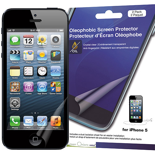 Green Onion Supply Crystal Oleophobic Screen Protector for iPhone 5/5SE/5s