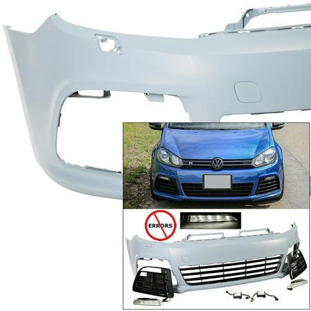 R20 Style Front Fascia Bumper Cover 2010-2014 VW Golf GTI MKVI MK6 Aero Body -