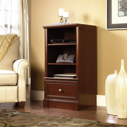 Sauder Palladia Audio Media Tower, Cherry