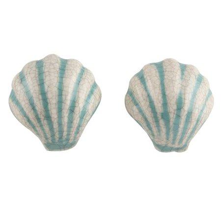 MarktSq Sea Shell Dresser Novelty Knob
