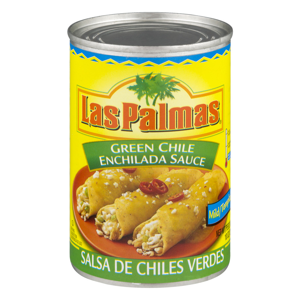 (3 Pack) Las Palmas Mild Green Chile Enchilada Sauce, 10 oz