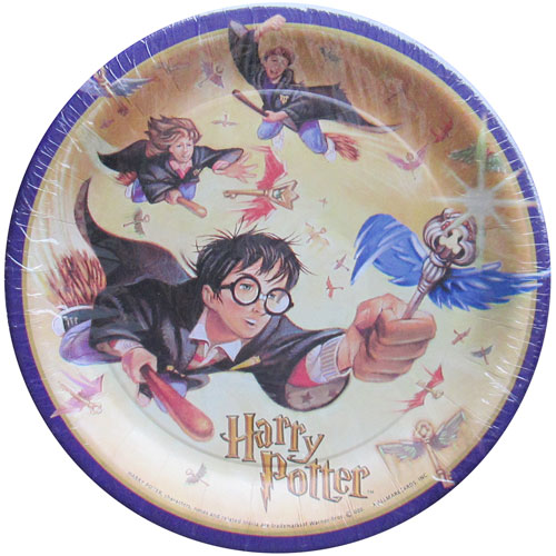 Harry Potter Large Paper Plates (8ct)