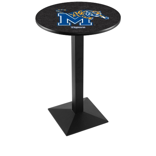 NCAA Pub Table by Holland Bar Stool, Black - Memphis Tigers, 36'' - L217