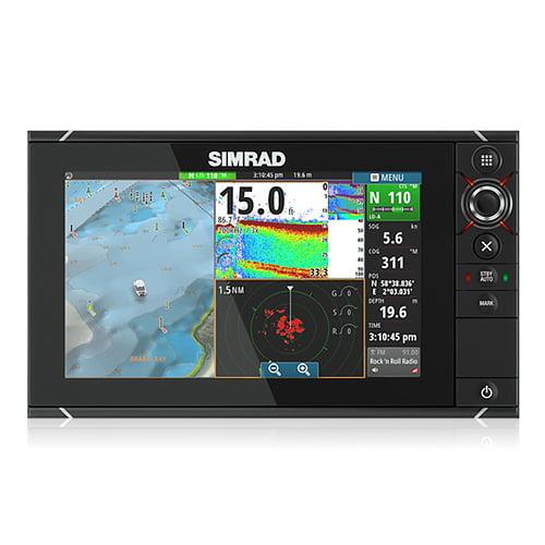 Simrad 000 - 11192 - 001 GPS Fishfinder Combo w /  HEROiC Software