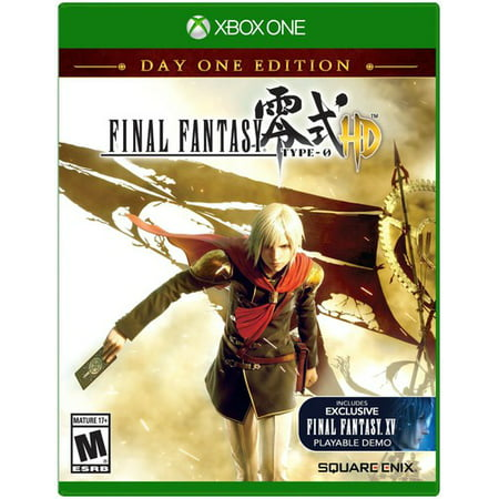 Final Fantasy Type-0 HD Day 1 Edition, Square Enix, Xbox One, (Final Fantasy 15 Special Edition Xbox One)