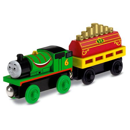 Thomas & Friends Wooden Railway Percy's Musical Ride Train