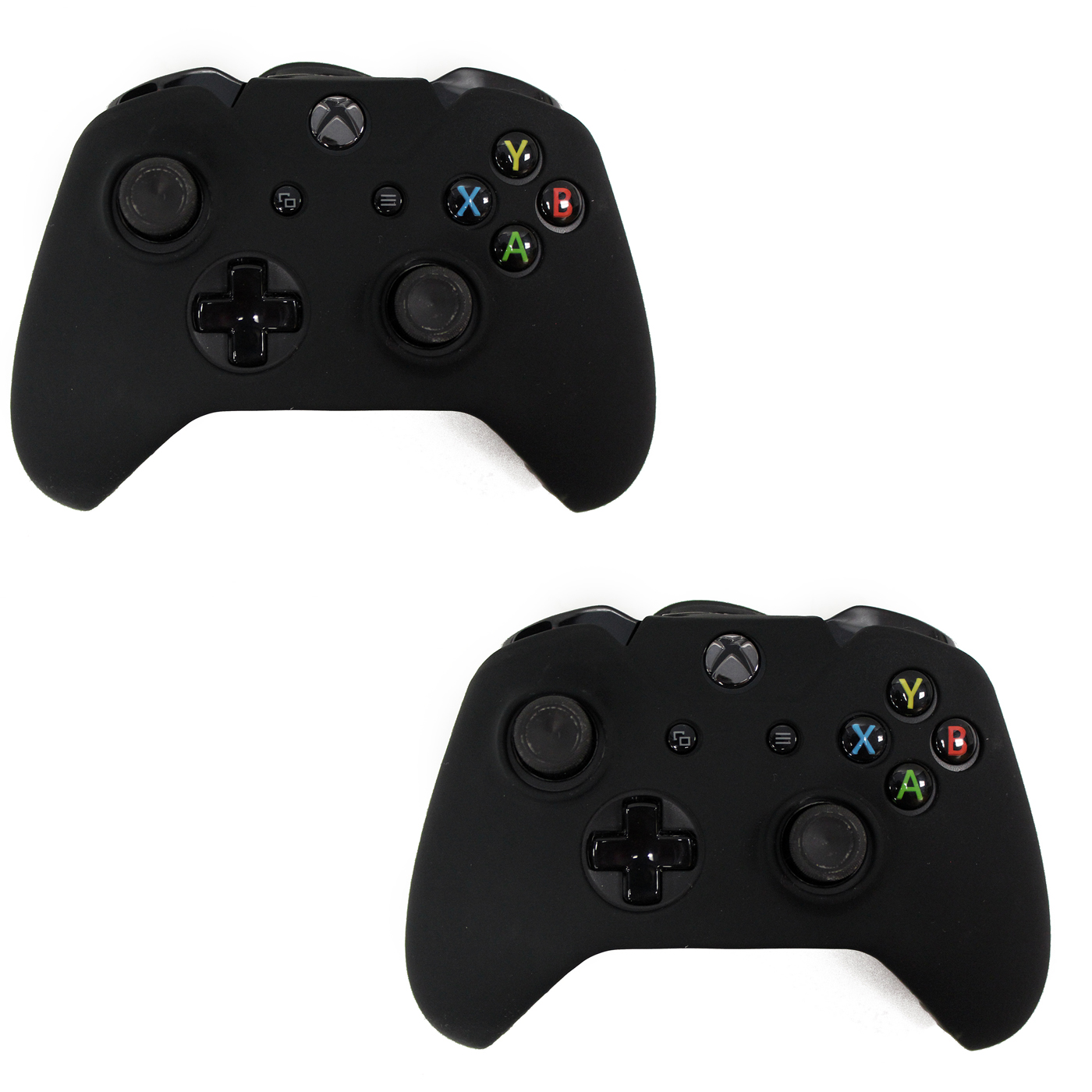 HDE Xbox One 2 Pack Controller Grip Skin Protective Silicone Rubber Cover for