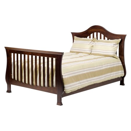 Million Dollar Baby Ashbury  4 In 1 Convertible Crib With Toddler Rail  Espresso