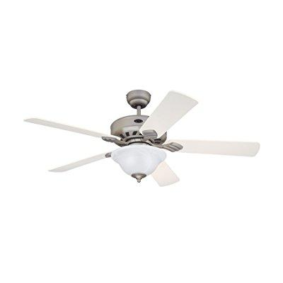 Westinghouse 7867765 bethany 52 inch ceiling fan, brushed pewter finish