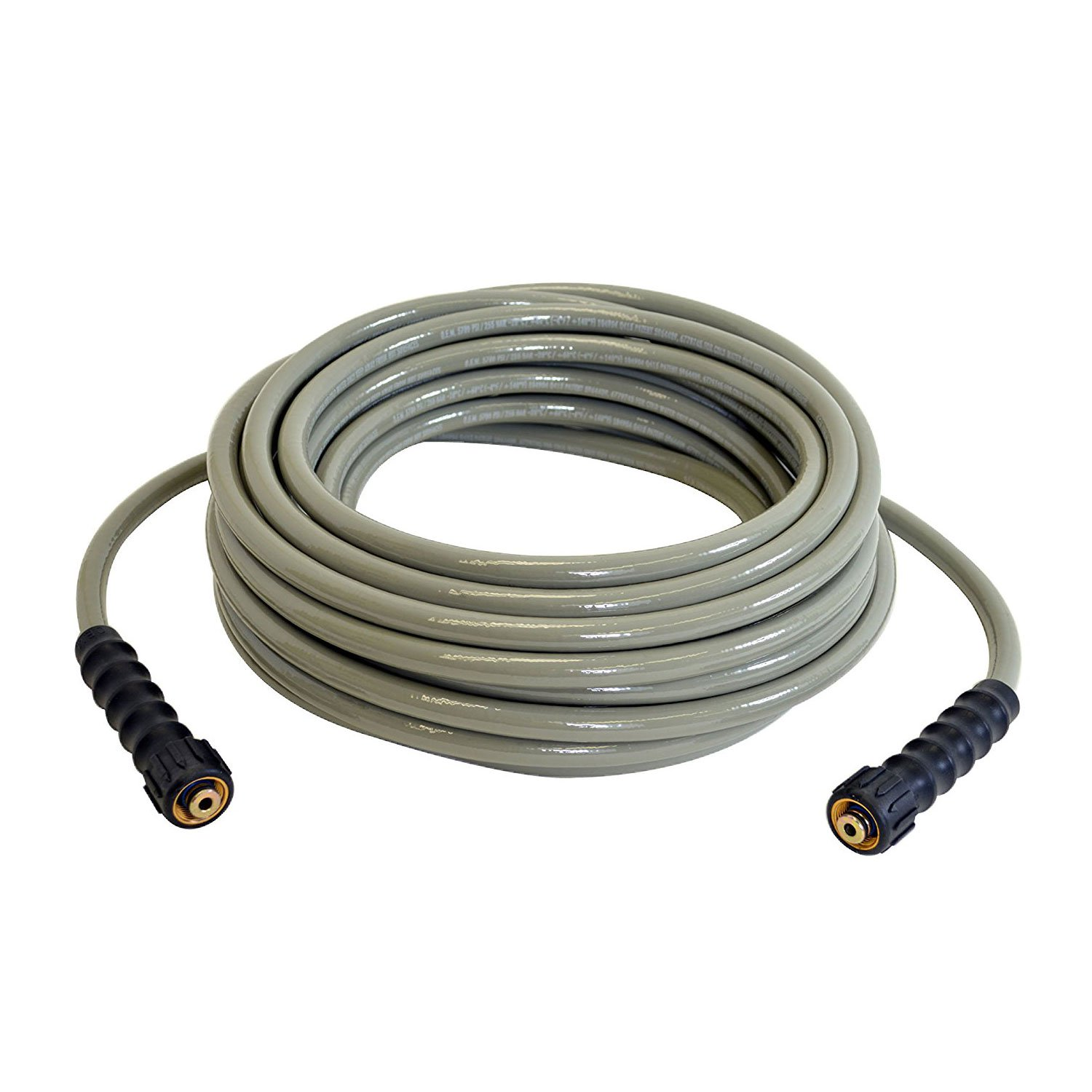Simpson Cleaning MorFlex M22 3700 PSI Cold Water Pressure Washer Hose, 50 Feet