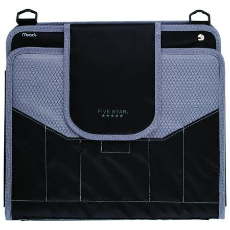 "Five Star Zipper Binder + Storage, 4"", Assorted Colors (28017)"
