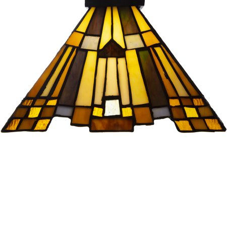 River of Goods Luxor Jeweled Mission Stained Glass 61