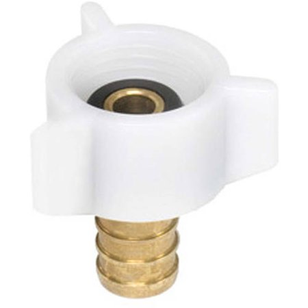 Flair-It 51177 Brass Swivel Adapter, 1/2