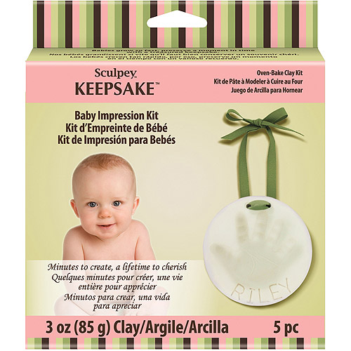Polyform Sculpey Keepsake Baby Impression Kit
