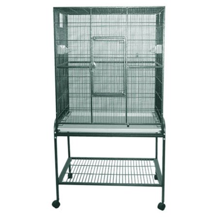 A and E Cage Co. Wrought Iron Flight Bird Cage 13221