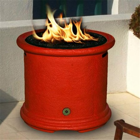 California Outdoor Concepts Island Chat Height Fire Pit--Gold Reflective  Glass - California Outdoor Concepts Island Chat Height Fire Pit--Gold