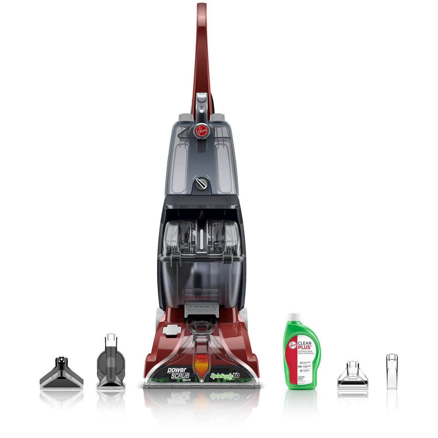 Hoover Power Scrub Deluxe Carpet Cleaner, -FH50150