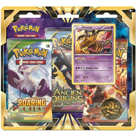 Pokemon Giratina 3-Pack Blister (Pokemon Dark Cry The Legend Of Giratina)